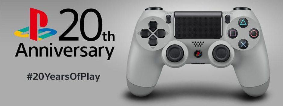 La edición 20 aniversario del Dualshock 4 llegará en septiembre