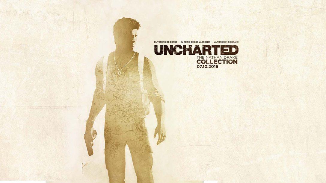 Uncharted: The Nathan Drake Collection llegará en octubre a PS4