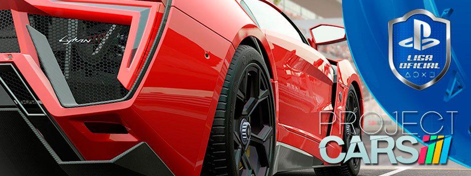 Project Cars arranca motores en la Liga Oficial PlayStation