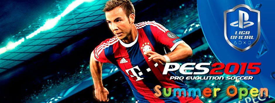 PES 2015 SUMMER OPEN: El mejor fútbol continúa en la Liga Oficial PlayStation