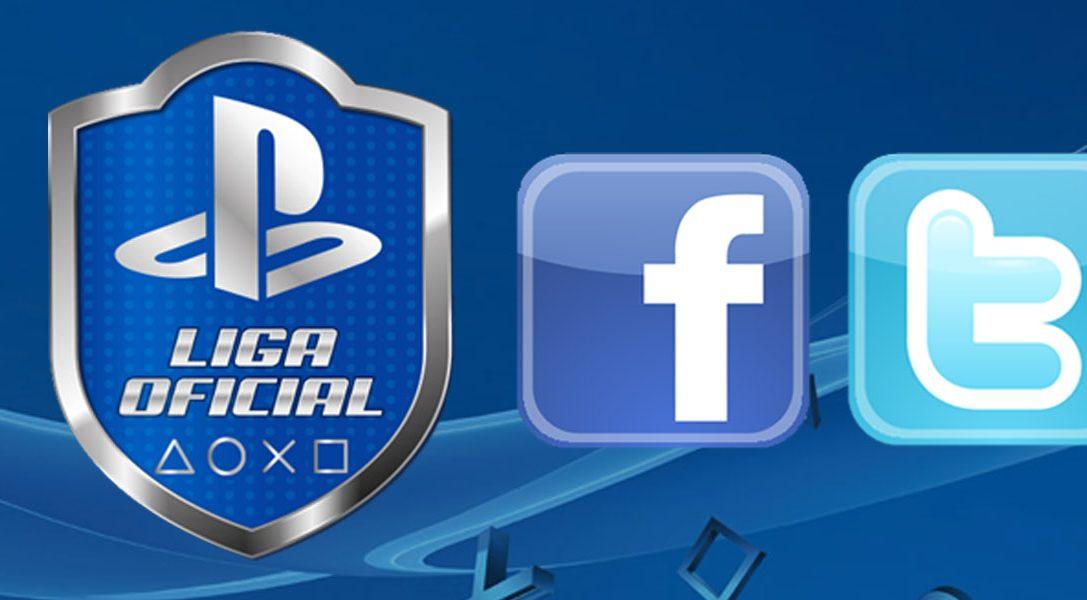 La Liga Oficial PlayStation ya está en Twitter y Facebook
