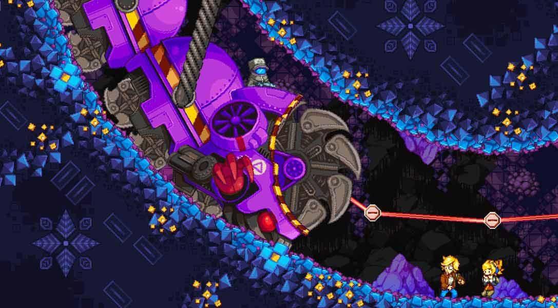 El ambicioso juego de acción y plataformas Iconoclasts llega a PS4 y PS Vita