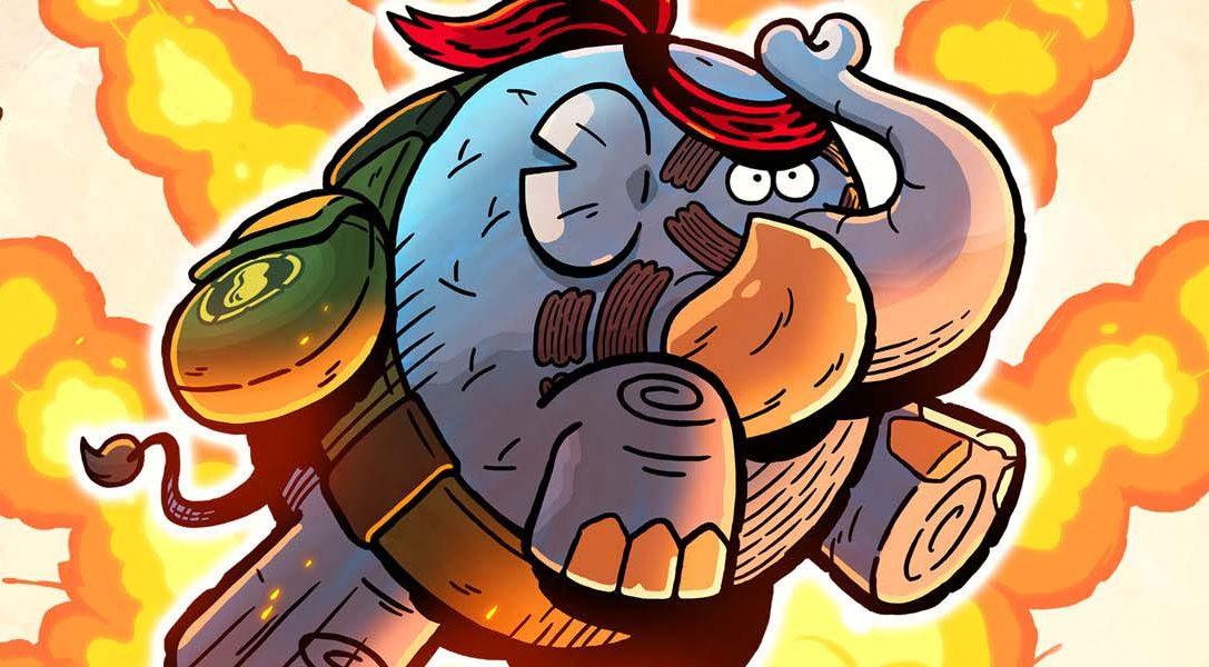 Tembo The Badass Elephant llega mañana a PS4; echa un vistazo al tráiler de lanzamiento