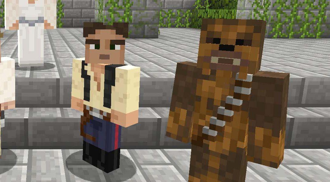 Minecraft recibe hoy un pack de aspectos de Star Wars