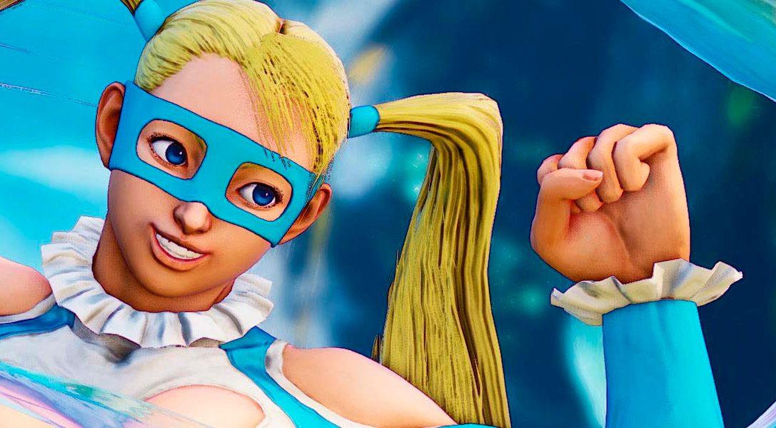 Street Fighter V da la bienvenida a Rainbow Mika