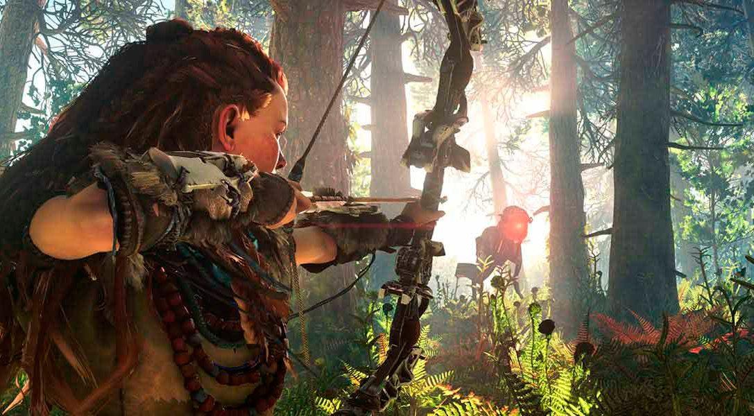 Descubre de Horizon Zero Dawn en el E3 a 1080p