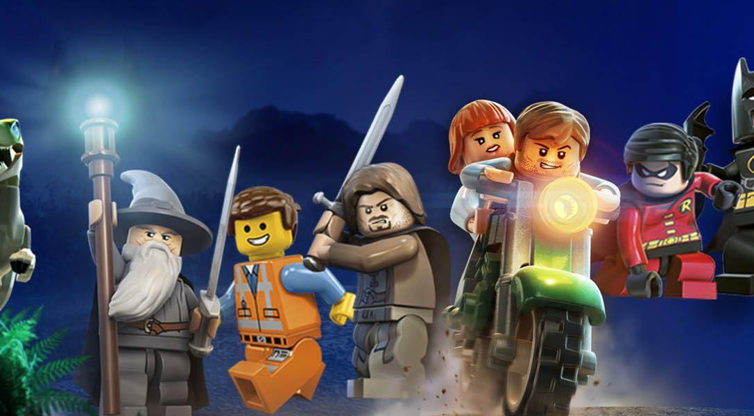 Dinosaurios de LEGO, héroes y muchos juegos indie