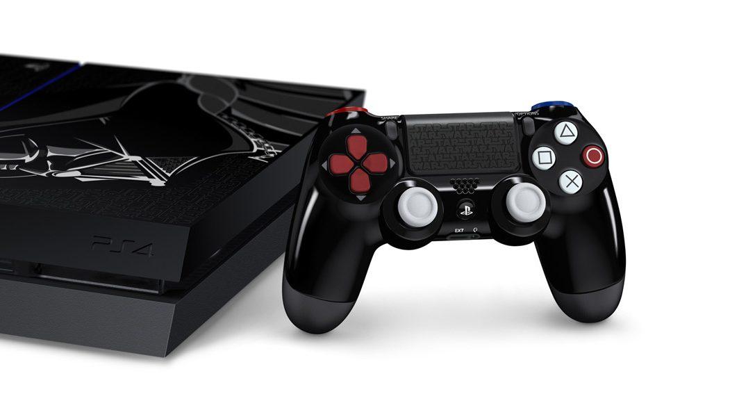 Una nueva PS4 de Edición Limitada, inspirada en Darth Vader, llegará en Noviembre