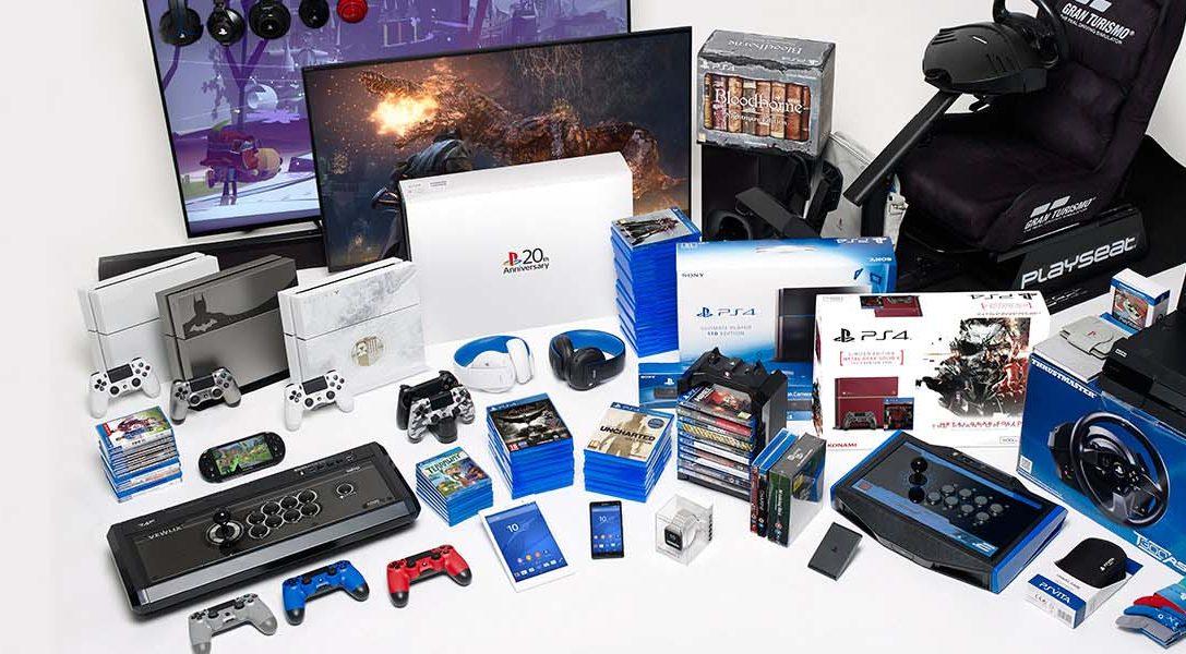 Gana el equipo de juego PlayStation 4 definitivo, valorado en más de 14.000 €