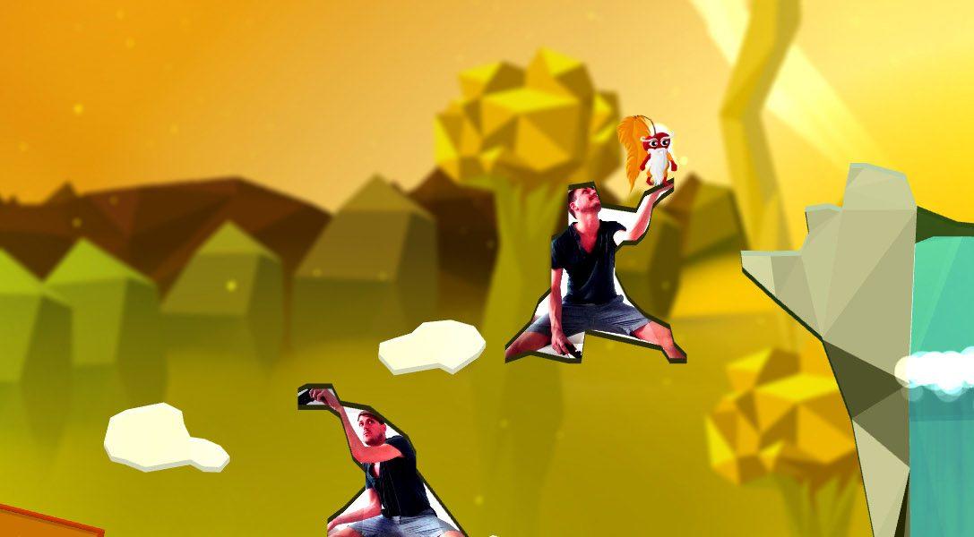 Ya a la venta Commander Cherry's Puzzled Journey, el juego de plataformas para PlayStation Camera