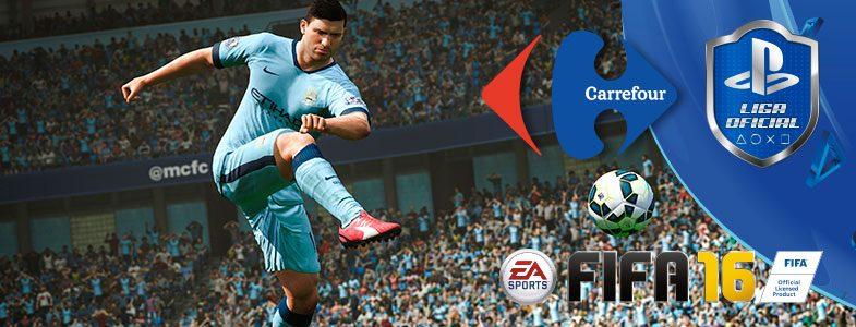 Liga Oficial PlayStation – No te pierdas el primer Torneo FIFA 16 Carrefour