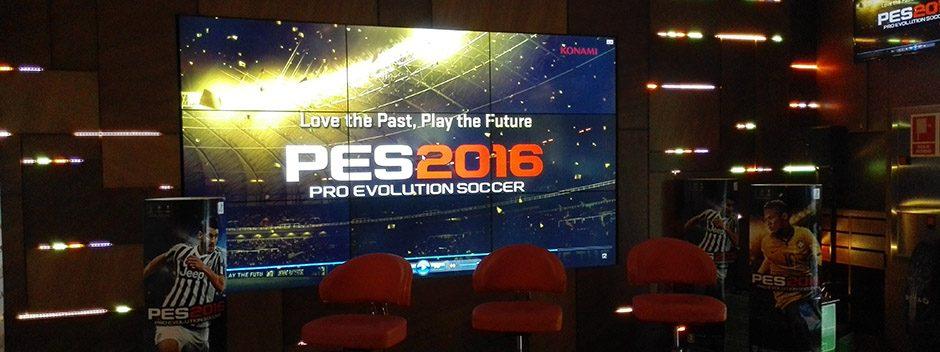 Tenología punta y nostalgia se unen en la presentación de PES 2016