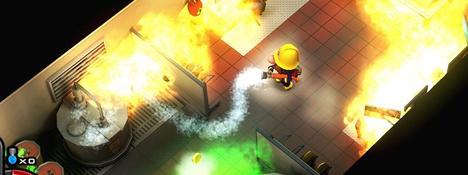 Flame Over – El aclamado juego de bomberos llega a PS4 la semana que viene