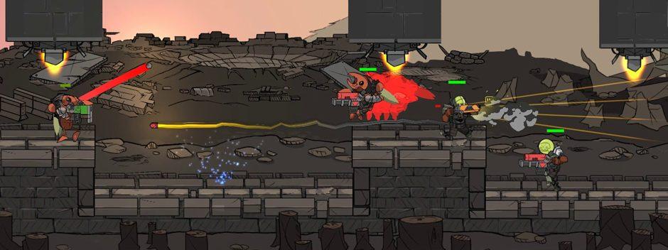 El shooter en 2D Crashnauts llega a PS4