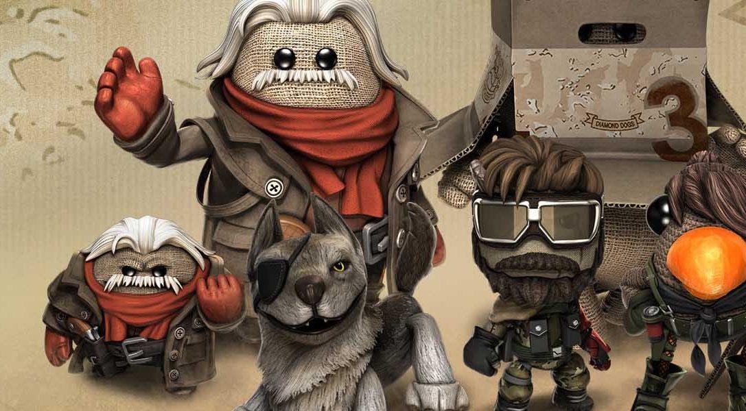 Esta semana llega a LittleBigPlanet 3 el pack de contenido descargable Metal Gear Solid V: The Phantom Pain