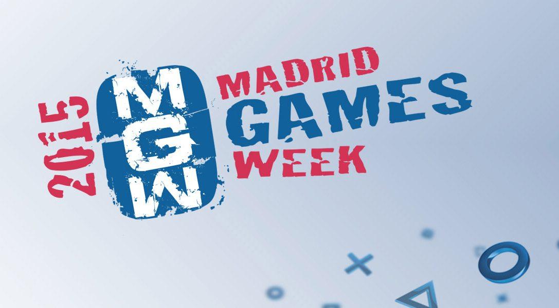 Gana entradas para Madrid Games Week en Twitter – #MGWFuturoEnPS4