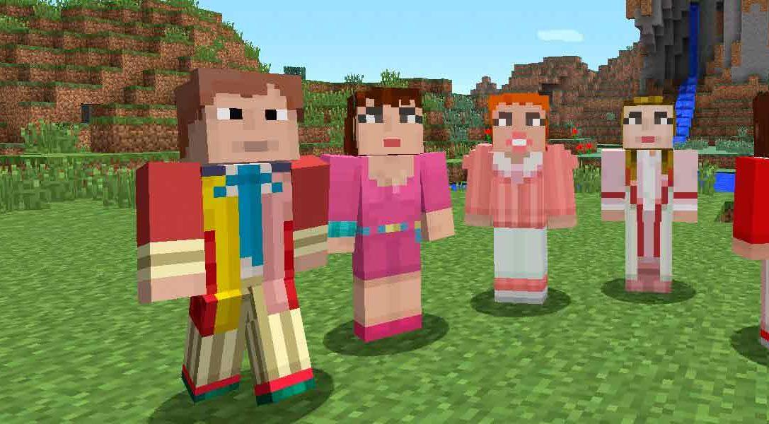 Nuevo DLC del Doctor Who llega hoy a Minecraft