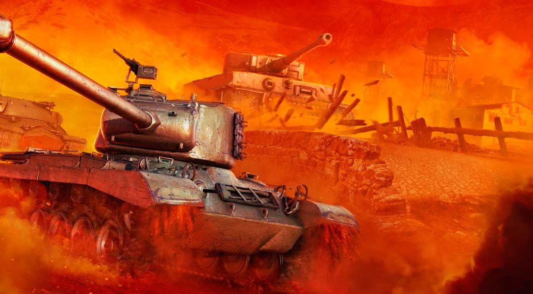 World of Tanks llega a PlayStation 4