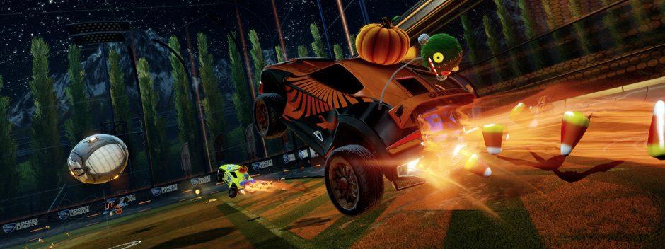 Llega DLC de Halloween de Rocket League este mes