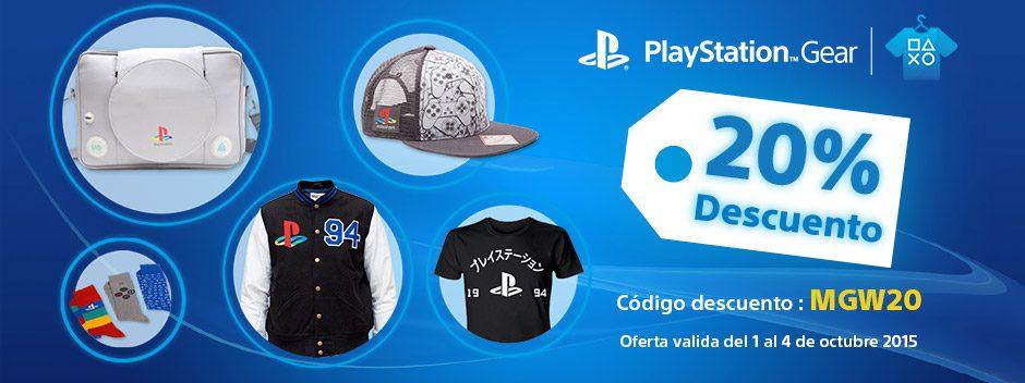 Merchandising oficial de PlayStation al mejor precio durante la Madrid Games Week