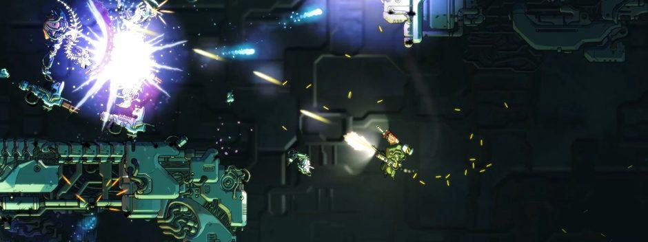 El juego de ciencia-ficción Cryptark llegará a PS4 el año que viene
