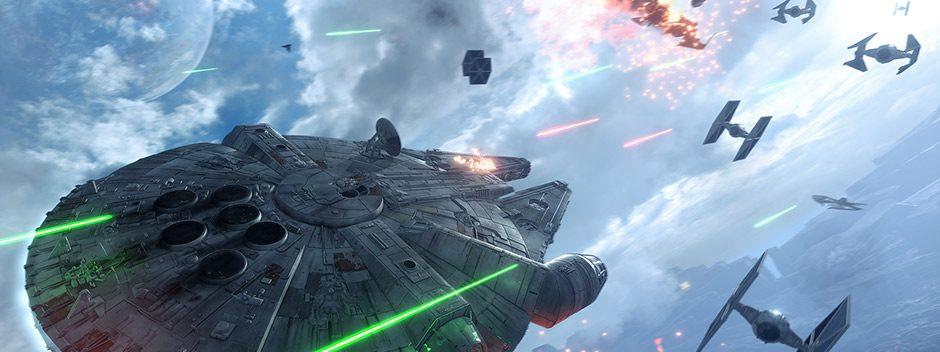 Star Wars Battlefront – A los mandos del Halcón Milenario