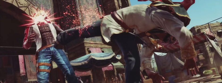 Tekken 7 se presenta en la Paris Games Week
