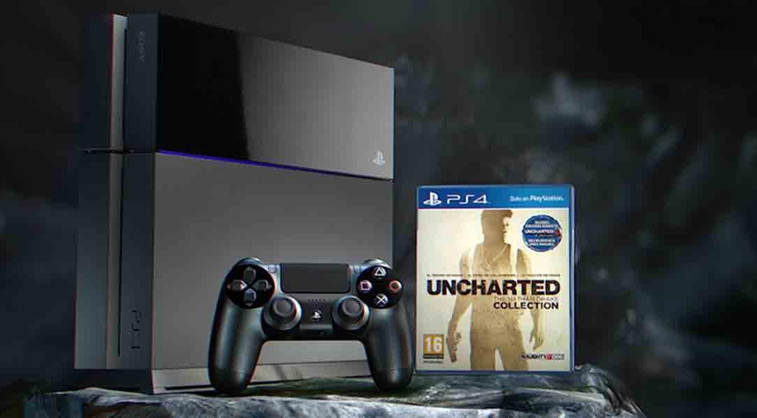 Llévate de regalo UNCHARTED: The Nathan Drake Collection al comprar tu PS4 de 500 GB
