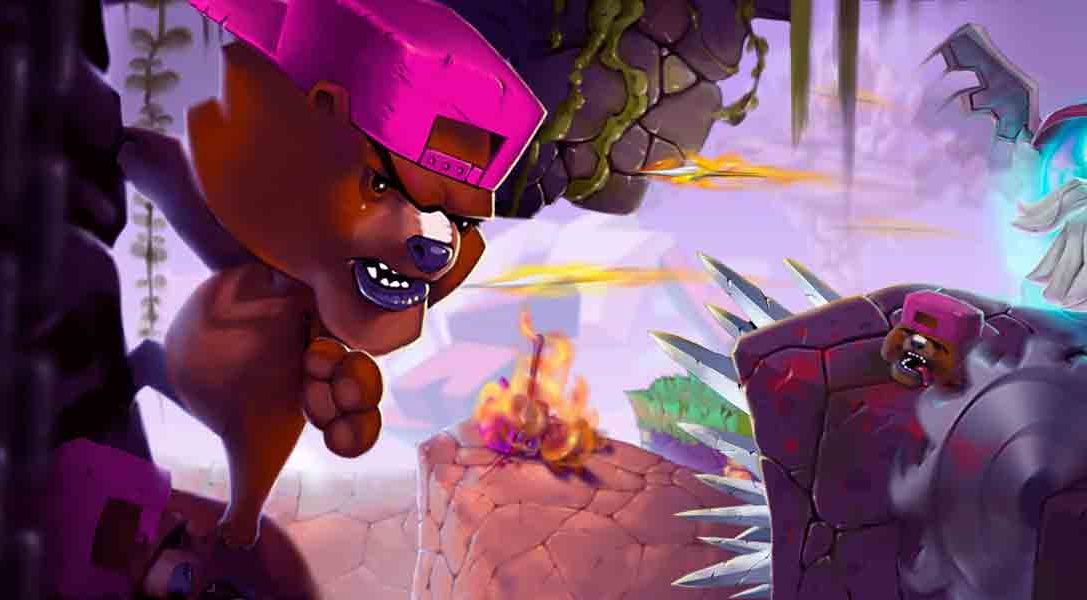 Super Rude Bear Resurrection llega a PS4 para cambiar los juegos de plataformas