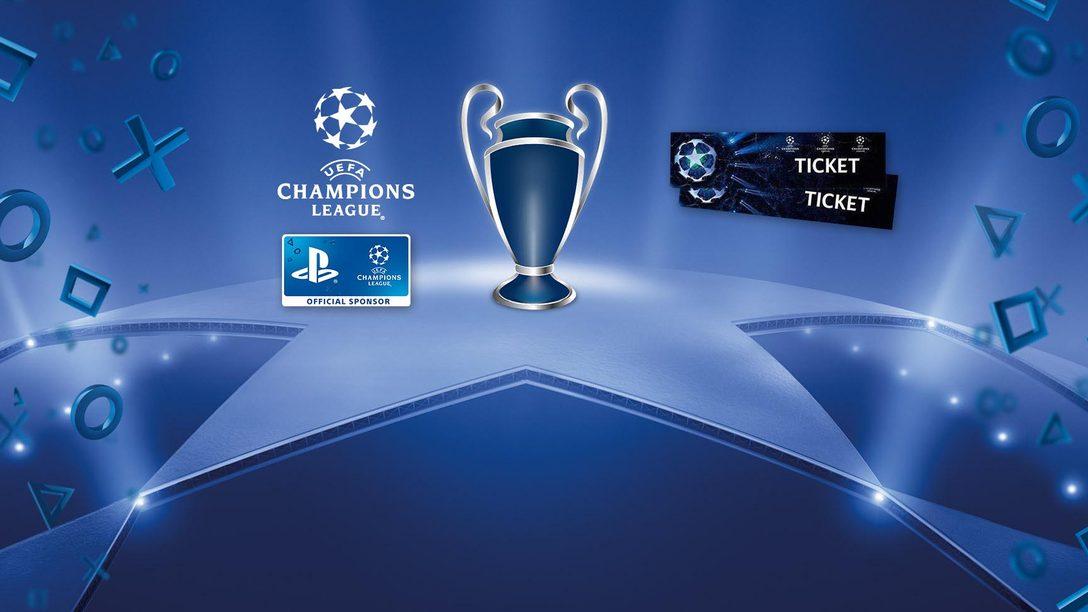 Anima a tu equipo favorito con PlayStation y consigue entradas para la Champions League