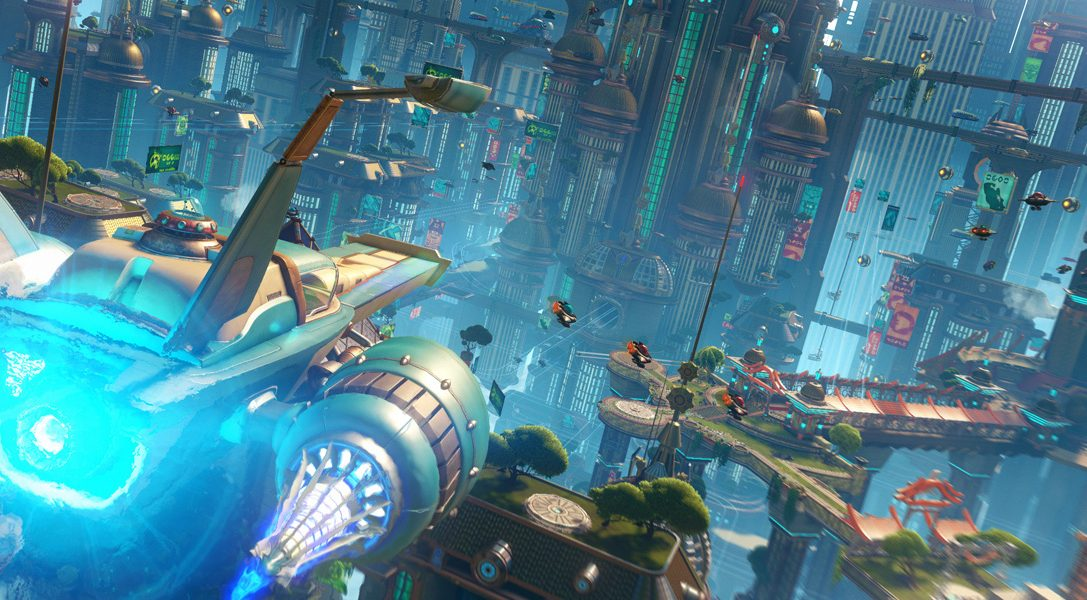 Un nuevo tráiler de Ratchet & Clank para PS4 debuta en la Paris Games Week