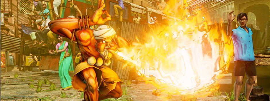 Anunciada la fecha de lanzamiento de Street Fighter V, Dhalsim se une al elenco