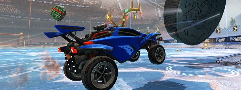 El evento Winter Games llega gratis a Rocket League el mes que viene