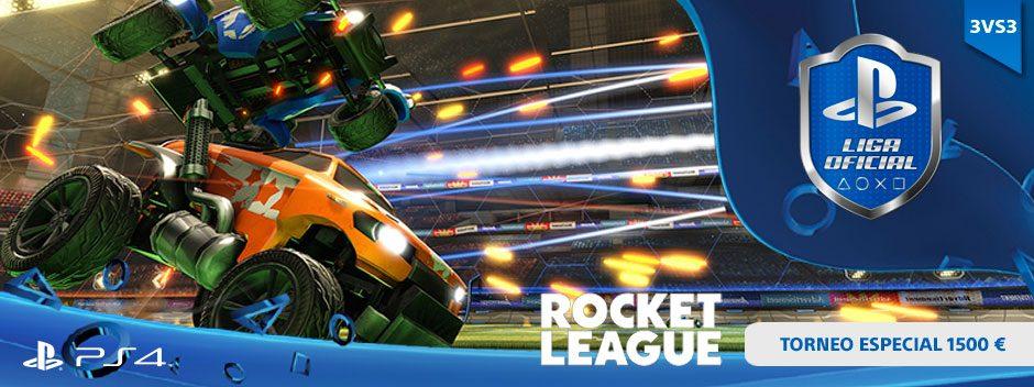 Campeonato 1500 € Rocket League 3 vs 3 de la Liga Oficial PlayStation