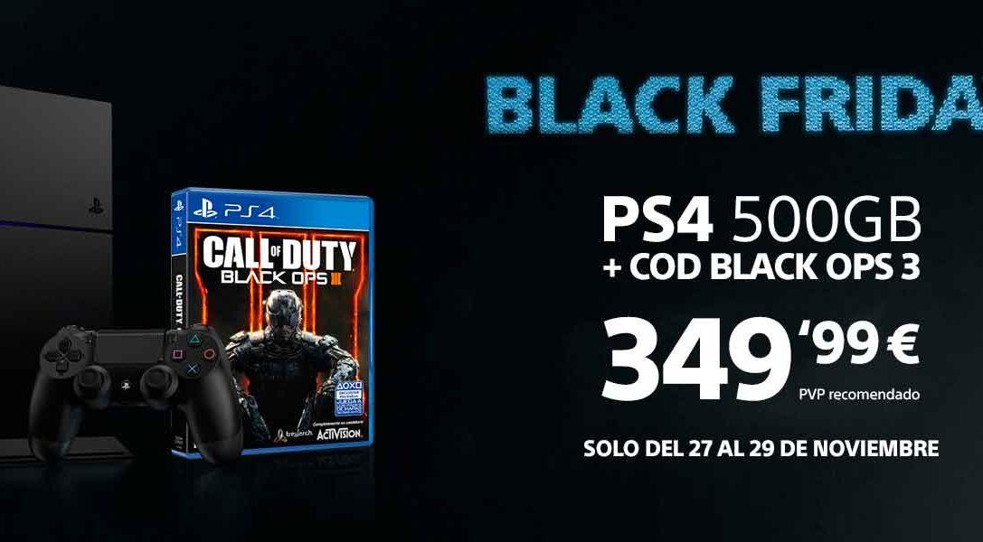 Black Friday PlayStation – PS4 500 GB con Call of Duty Black Ops III por  349,99 €*