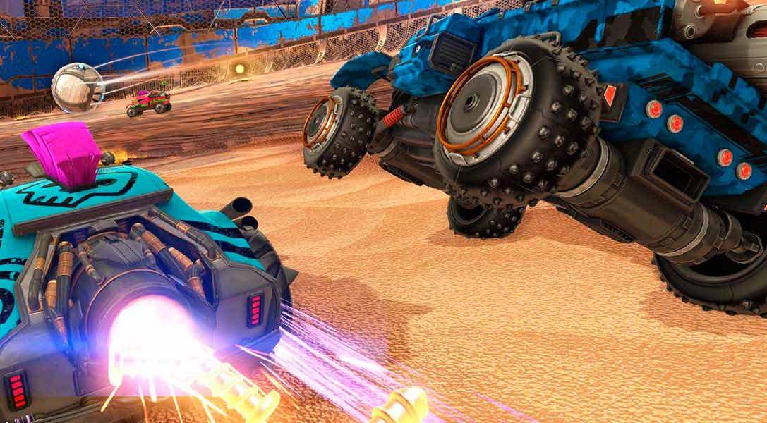 El contenido descargable Chaos Run de Rocket League llega en diciembre