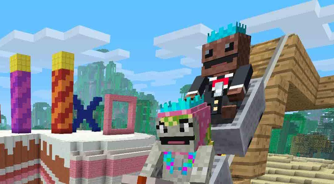La actualización más grande de Minecraft llega hoy