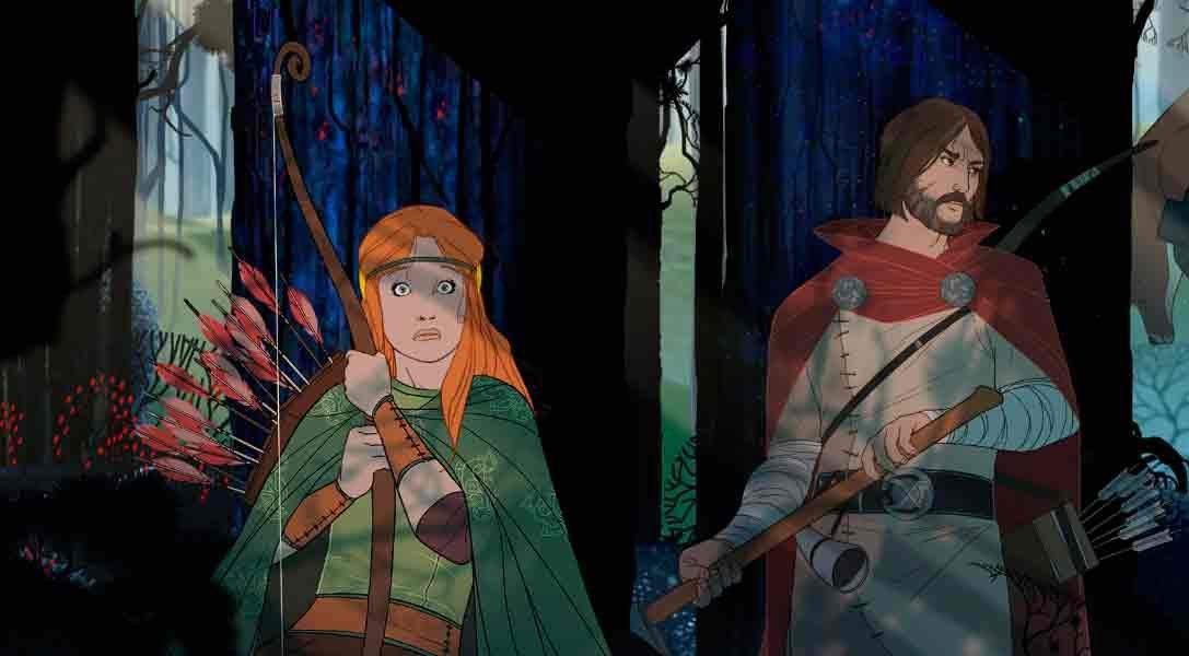 El juego de rol y estrategia The Banner Saga sale para PS4 en enero de 2016