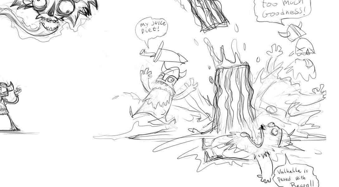 Zombie Vikings tendrá un nuevo personaje: Raz de Psychonauts