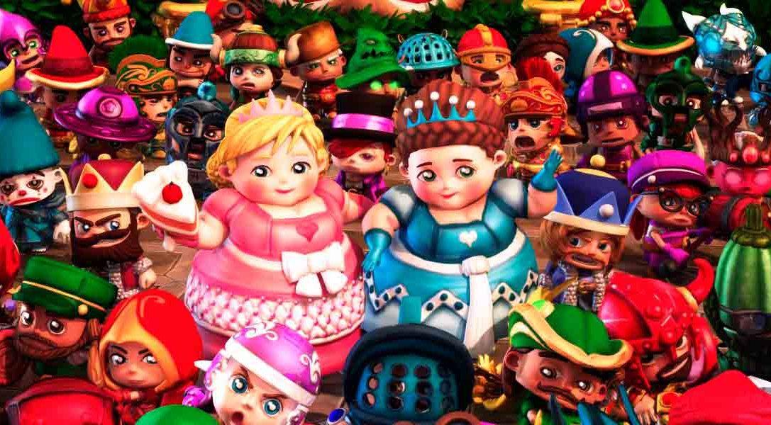 ¡Sorpresa! Fat Princess Adventures ya está disponible en PS Store