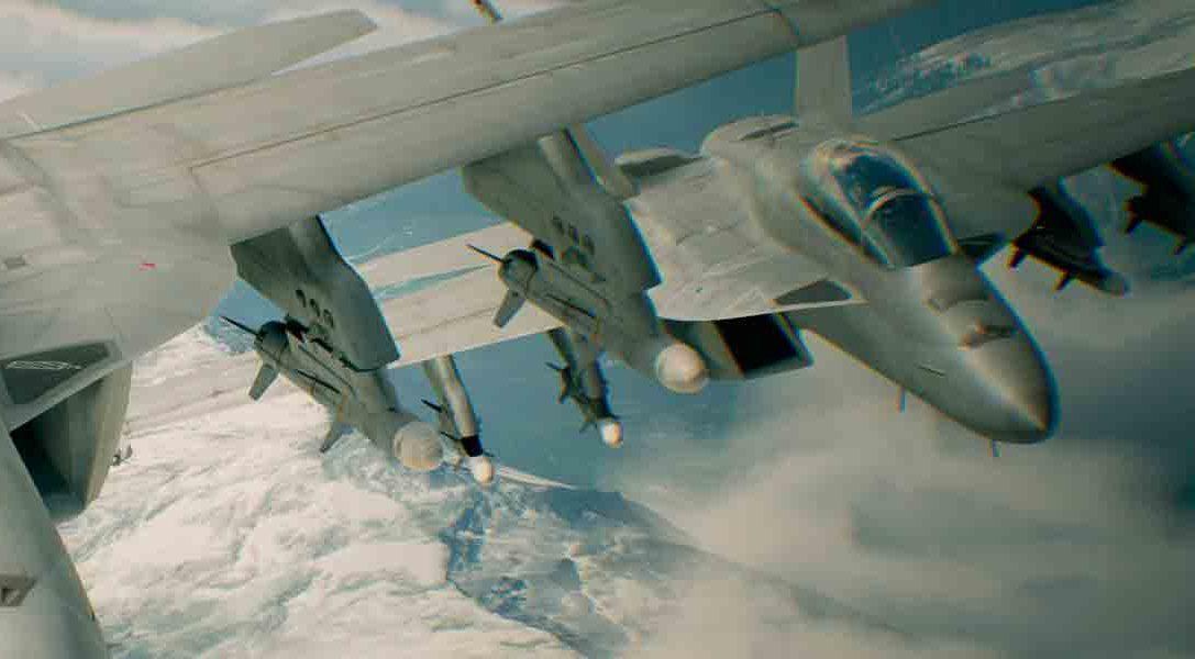 Ace Combat 7 anunciado para PS4 y PlayStation VR