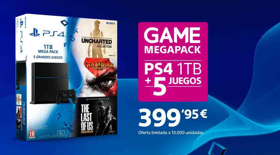 Hazte con el GAME Megapack por solo 399'95 €