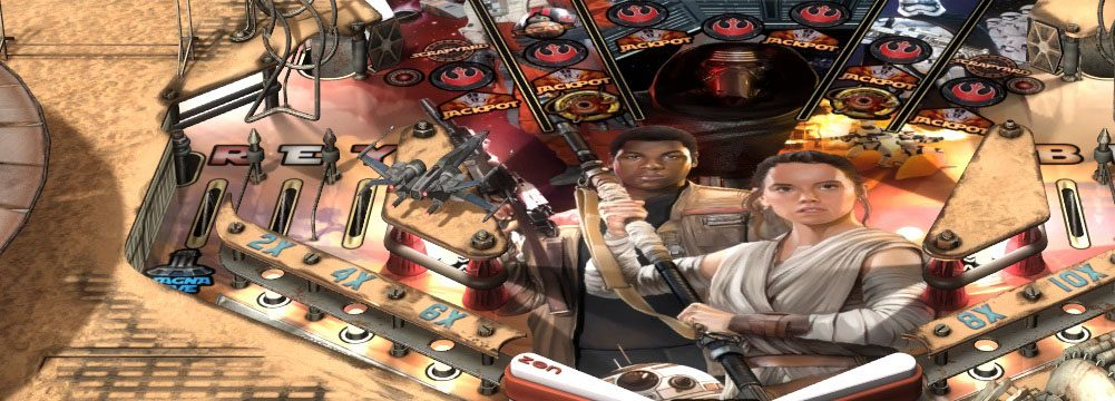 7 cosas que no puedes perderte del Pack Star Wars Pinball: The Force Awakens