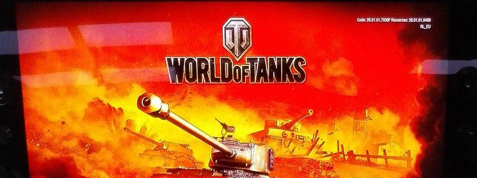 Asistimos a la presentación de World of Tanks
