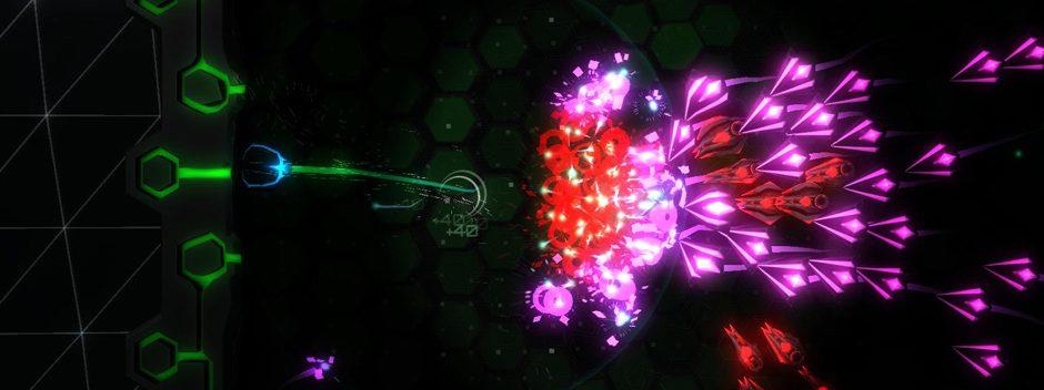 El shooter de doble joystick, Tachyon Project, llega hoy a PS4