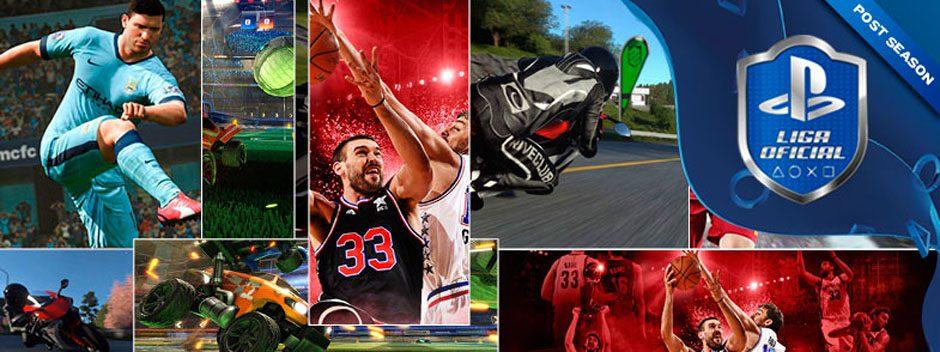 Arrancan los torneos Post Season en la Liga Oficial PlayStation