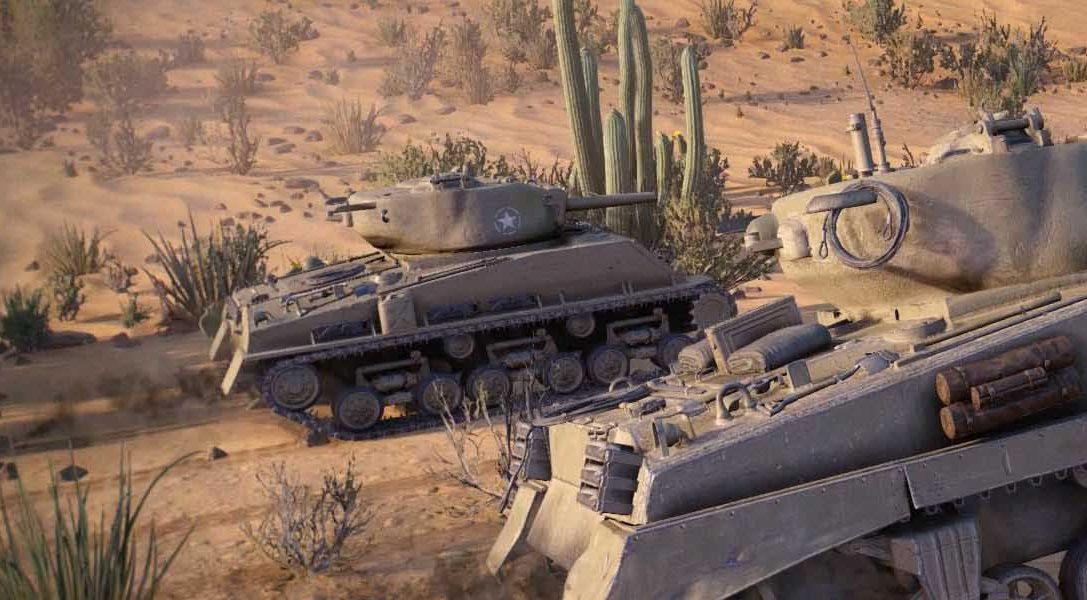 World of Tanks llega hoy a PS4