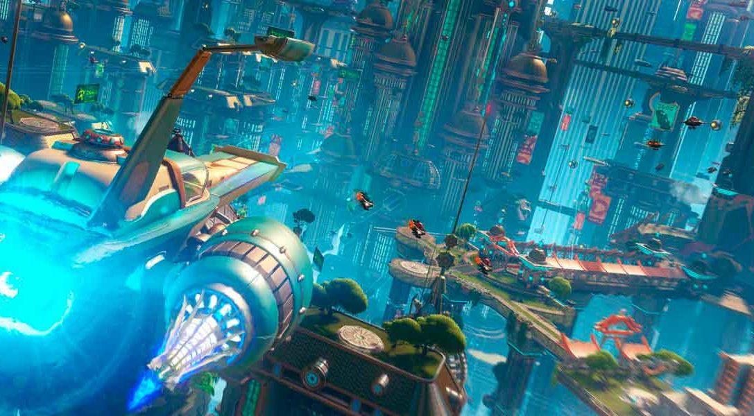Se confirma la fecha de lanzamiento de Ratchet & Clank para PS4