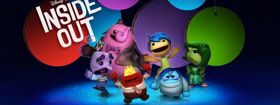 El pack de trajes de Del Revés llega a LittleBigPlanet 3 esta semana