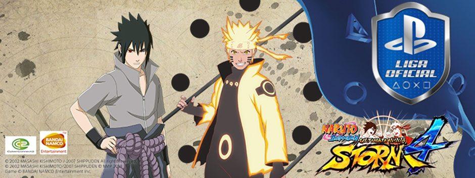 Naruto se une a la Liga Oficial PlayStation